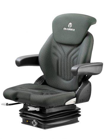 Grammer Compacto Basic M mechanisch geveerde stoel (MSG83/521) voor tractor en trekker