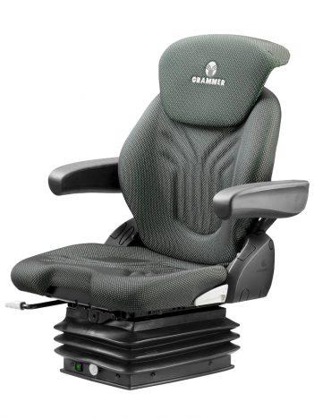 Grammer Compacto Comfort M luchtgeveerde stoel (MSG93/521) voor tractor en trekker