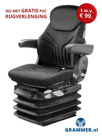 Grammer Maximo L/G (MSG95G/721) trekkerstoel / tractorstoel is een luchtgeveerde stoel voor tractor of bouwmachine