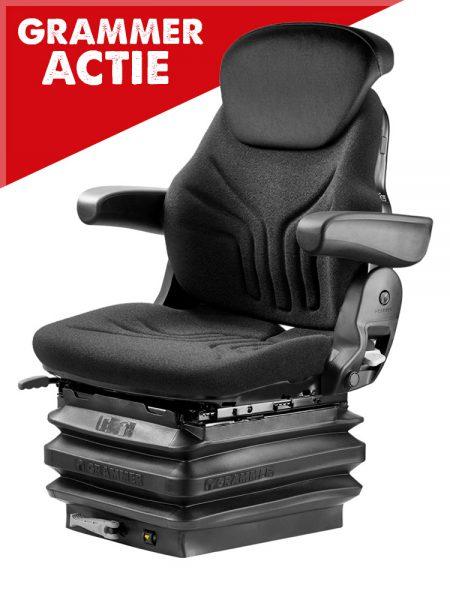 Grammer Maximo M met pvc rugverlenging mechanisch geveerde trekkerstoel