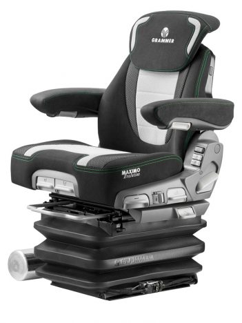Grammer Maximo Evolution Active luchtgeveerde stoel voor tractor