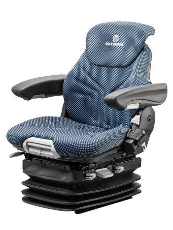 Grammer Maximo XXL luchtgeveerde stoel PVC voor heftruck en bouwmachine