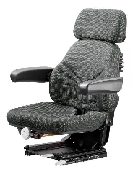 Grammer Universo Basic Plus mechanisch geveerde stoel (MSG44/520) voor tractor en trekker