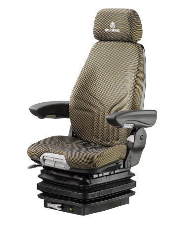 Grammer Actimo M mechanisch geveerde stoel (MSG85/722) voor bouwmachine.