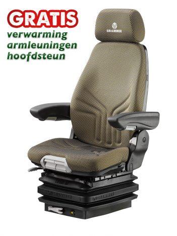 Grammer Actimo M mechanisch geveerde stoel (MSG85/722) voor bouwmachine - 1294547
