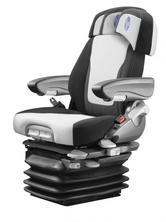Grammer Maximo Dynamic  Plus MSG95AL/741 luchtgeveerde stoel voor tractor met rechter armleuning