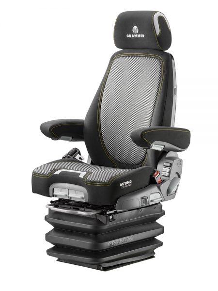 Grammer Actimo Evolution luchtgeveerde stoel (MSG95EL/742) voor bouwmachine