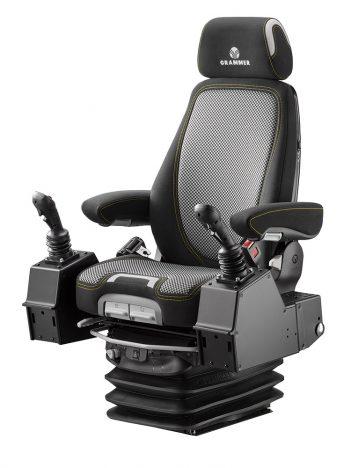 Grammer Actimo Evolution luchtgeveerde stoel (pods) voor bouwmachine