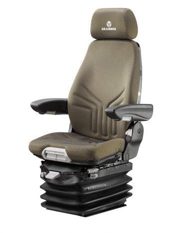 Grammer Actimo XL luchtgeveerde stoel (MSG95A/722) stoel voor bouwmachine