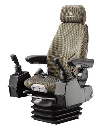Grammer Actimo XL luchtgeveerde stoel (pods) voor bouwmachine