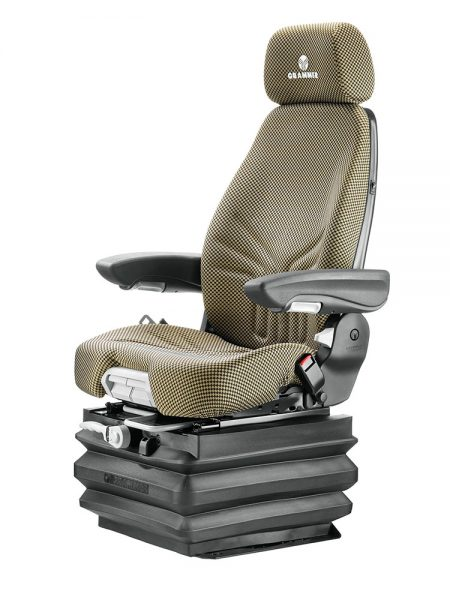 Grammer Actimo XXM mechanisch geveerde stoel (MSG87/742) voor bouwmachine