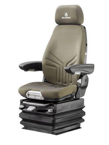 Grammer Actimo XXL MSG97 luchtgeveerde stoel voor bouwmachine