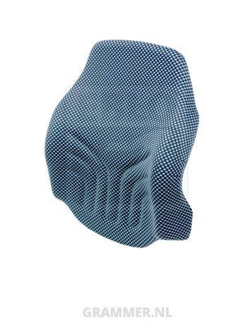 Grammer rugkussen MSG20 SM smal stof blauw/zwart
