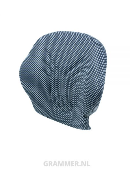 Grammer rugkussen 521 stof blauw/zwart voor Primo M, Primo XM, Primo L, Primo XL - MSG65-MSG75G