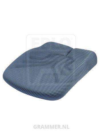 Grammer zitkussen 721 stof blauw zwart voor Maximo L - MSG95G