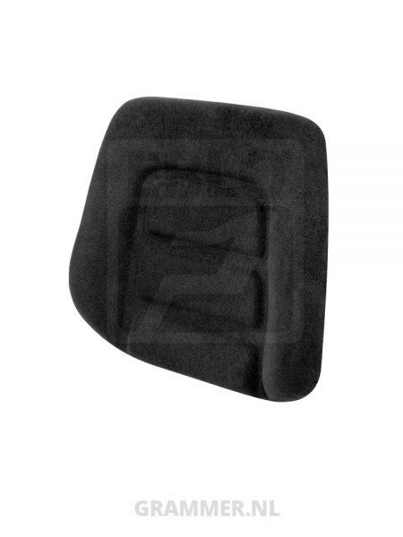 Rugkussen passend voor Grammer DS85/H90 stof zwart