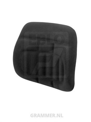 Rugkussen stof zwart passend voor Grammer LS95/H90 Top25