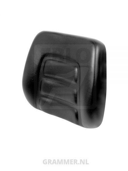 Rugkussen passend voor Grammer B12, GS12 en GS20 zwart pvc