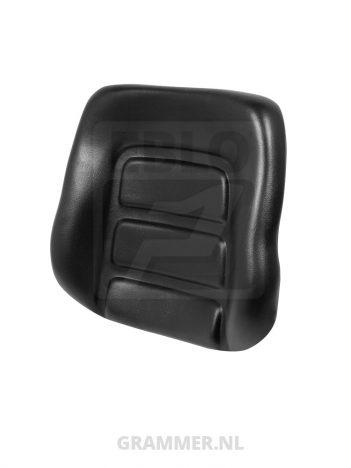 Rugkussen passend voor Grammer DS85/H90 zwart pvc