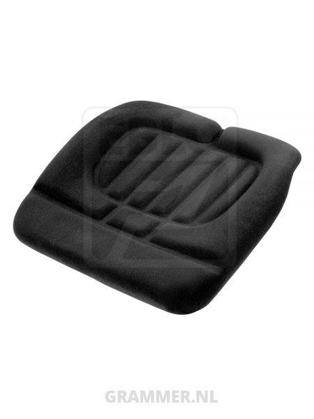 Zitkussen stof zwart passend voor Grammer LS95/H90 Top25