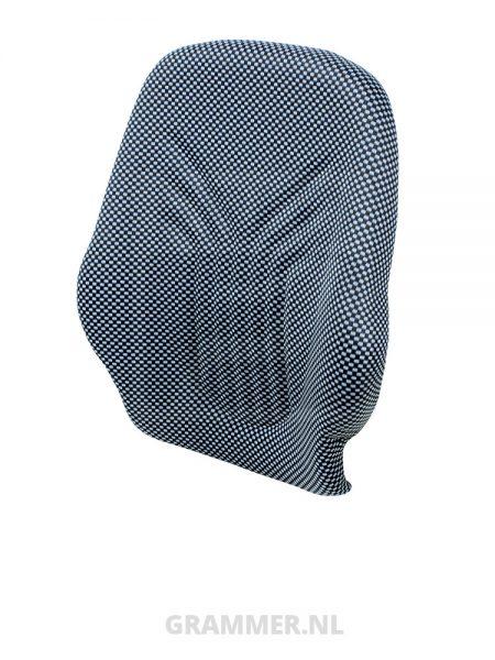 Grammer rugkussen 522 stof blauw/zwart voor Primo XXM, XXL - MSG65 MSG75GL
