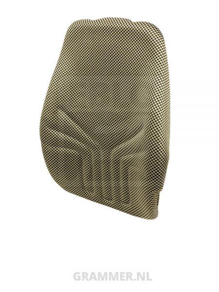 Grammer rugkussen 722 stof geel/zwart voor Actimo M, Actimo XL, Actimo XXL - MSG85, MSG95A, MSG97AL