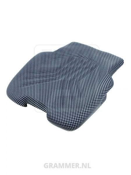 Grammer zitkussen 522 stof blauw/zwart voor Primo XXM, Primo XXL - MSG65, MSG75GL