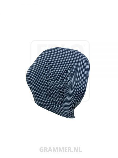 Grammer rugkussen stof blauw
