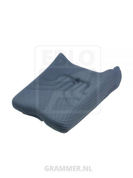 Grammer zitkussen MSG20 stof blauw voor bouwmachinevoertuigen