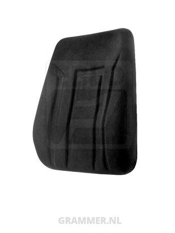 Rugkussen passend voor Grammer DS85/HLA stof zwart
