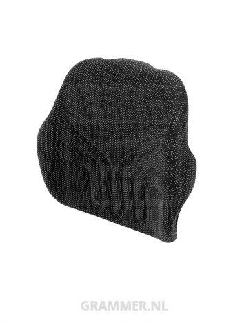 Grammer rugkussen 731 stof zwart matrix voor Maximo XM, Maximo XXL, Maximo Comfort, Maximo Comfort Plus, Maximo Professional, Primo EL, Primo EL Plus - MSG75, MSG85, MSG95