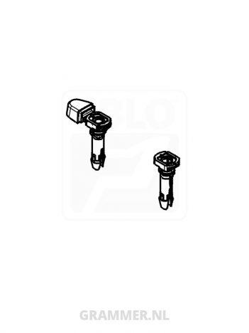 Geleidingsbusjes voor rugverlenging Dual motion van Grammer Maximo Dynamic Plus