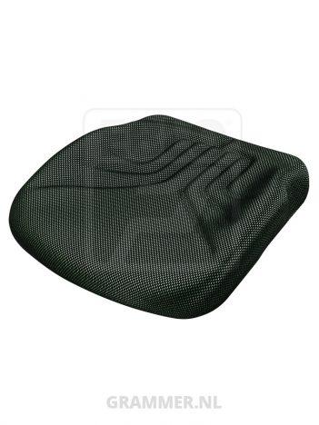Grammer zitkussen 731 zwart/groen agri dikker kussen zonder uitsparing