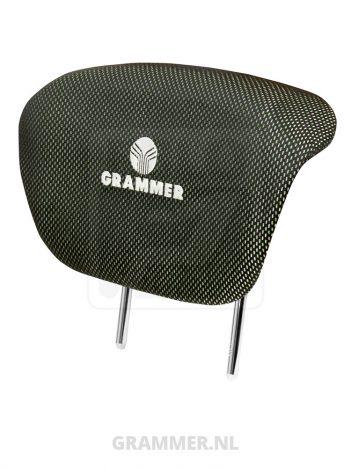 GR.760290 Grammer rugverlenging stof groen/zwart (agri) voor Grammer Maximo en Grammer Primo. Grammer 1288495, 1289144, G1289144, AG1289144, GR.760310
